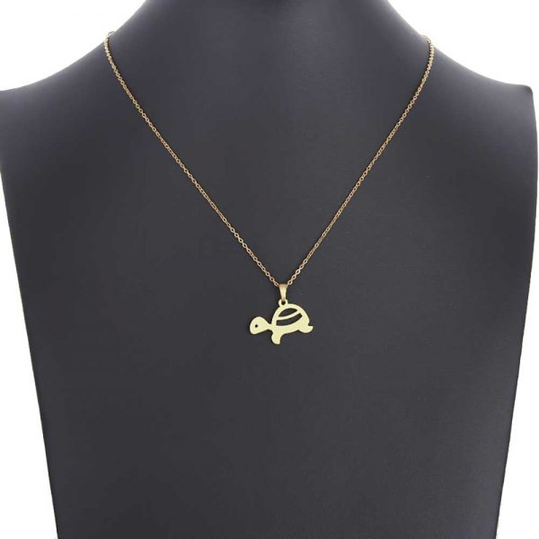 آویز گردنبند لاکپشت طلا 18 عیار کد 0610024