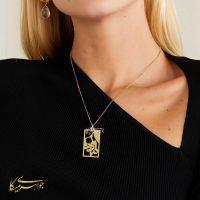 آویز گردنبند مادر طلا 18 عیار کد 0610313 مدل